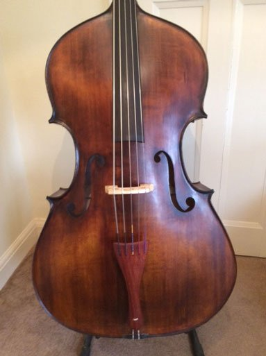 the double bass room - 5-string-Hungarian-violin-cornered-front